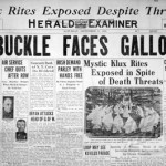 The Roscoe 'Fatty' Arbuckle murder case as reported in the San Francisco Herald Examiner, Septeber 17, 1921