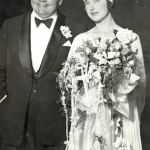 Roscoe Arbuckle and Doris Dean getting married, March 22, 1925