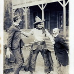 Tom Mix Breaking Up a Fight